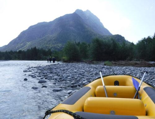 Rafting auf dem Lech in Österreich